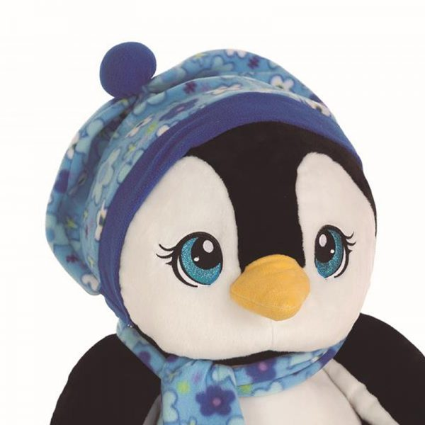 Peluche Pinguim Purpurinas 60cm
