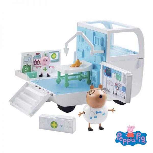 Peppa Pig – Ambulância e Hospital