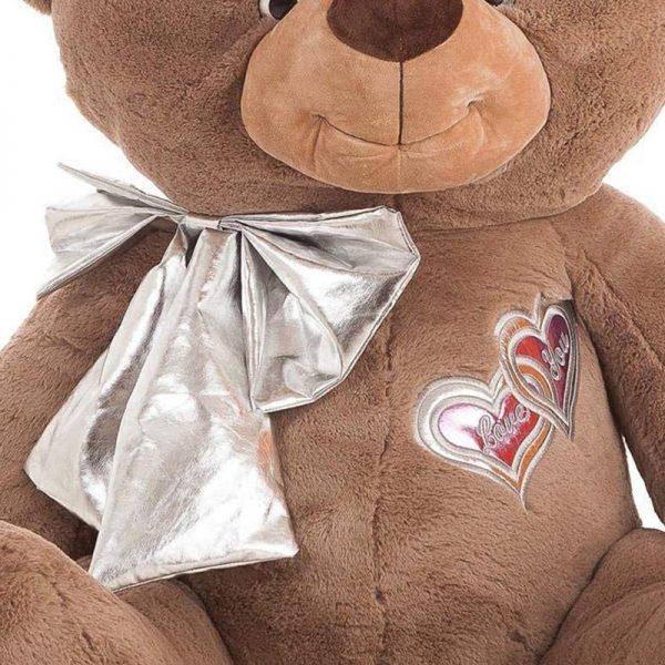 Urso Lulu Peluche Castanho 95cm