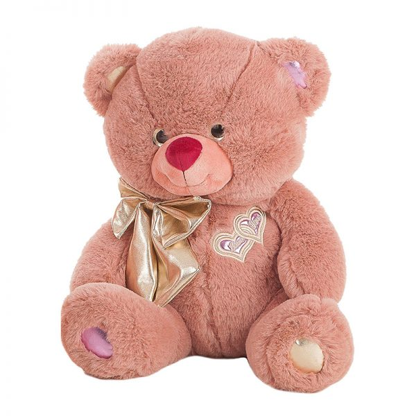 Urso Lulu Peluche Rosa 95cm