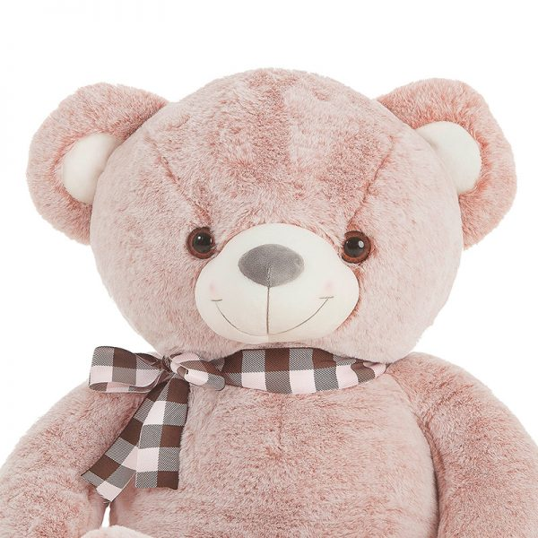Urso Peluche Suave Rosa 115cm