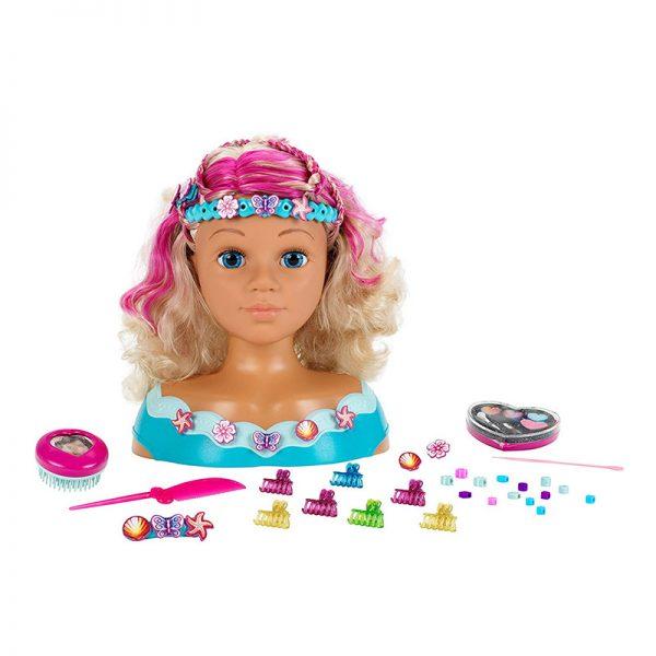 Busto Maquilhagem Princesa Coralie – Mariella