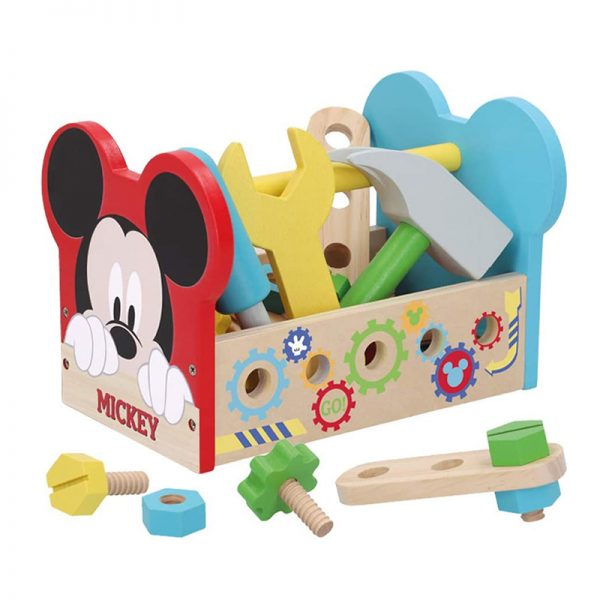 Caixa de Ferramentas de Madeira Mickey