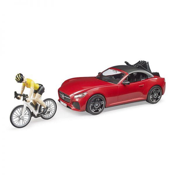 Carro Roadster c/ Bicicleta