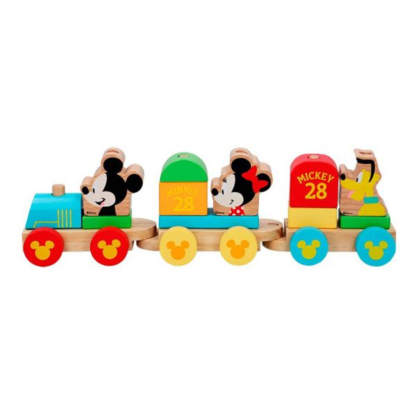 Comboio Disney Baby de Madeira 34cm