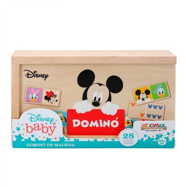 Dominó de Madeira Mickey