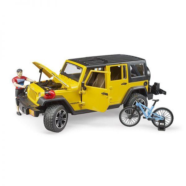 Jeep Wrangler Rubicon Unlimited c/ Bicicleta