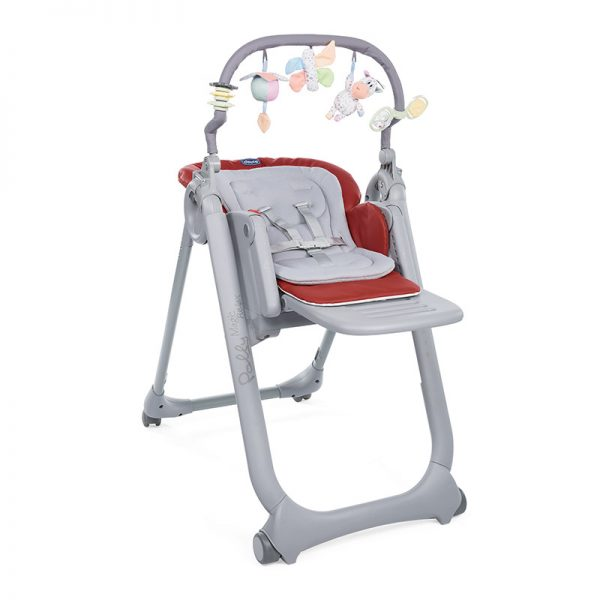 Cadeira de Papa Chicco Polly Magic Relax Red Passion