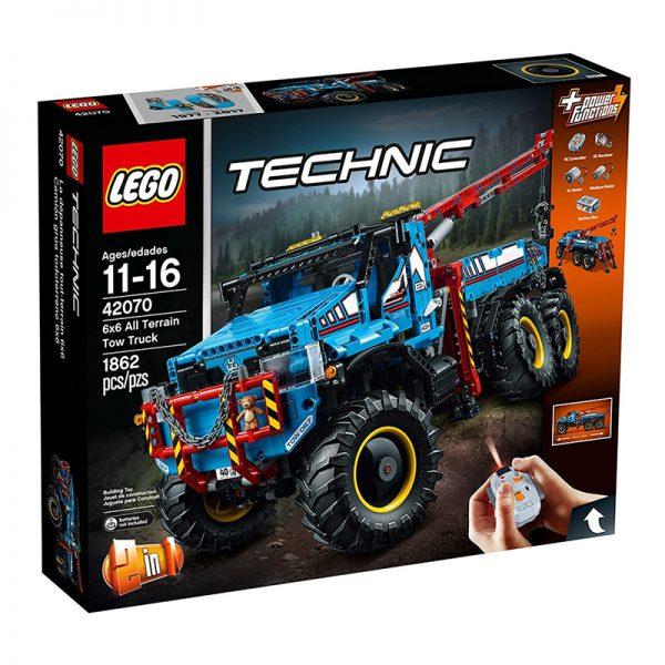 LEGO Technic – Camião Reboque Todo Terreno RC 42070