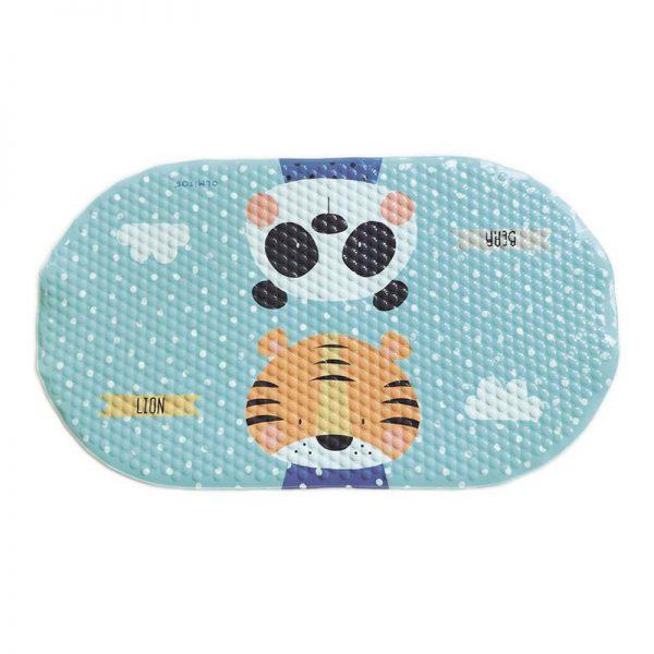 Tapete de Banho Olmitos Panda e Tigre