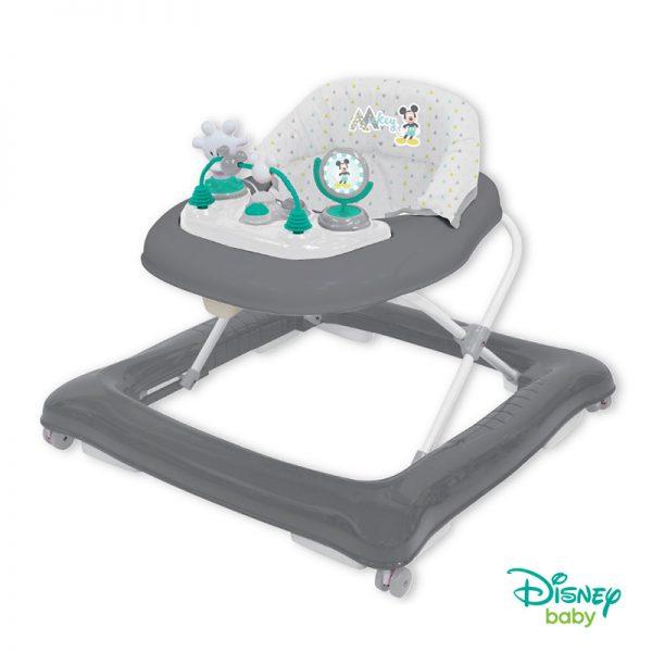 Andador Disney GEO Plastimyr Mickey Cinza