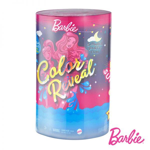 Barbie e Chelsea Color Reveal Festa Pijama