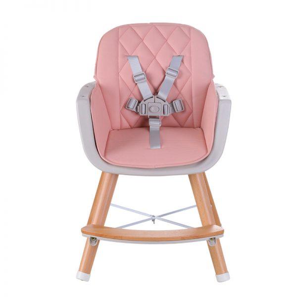 Cadeira de Papa Madeira Plastimyr Woody Rosa