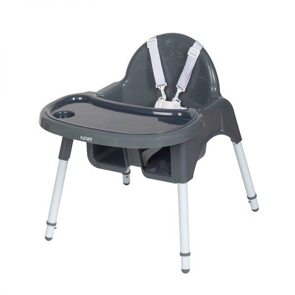 Cadeira de Papa TOP Plastimyr Cinza