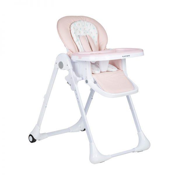 Cadeira de Papa Twinkle Plastimyr Rosa