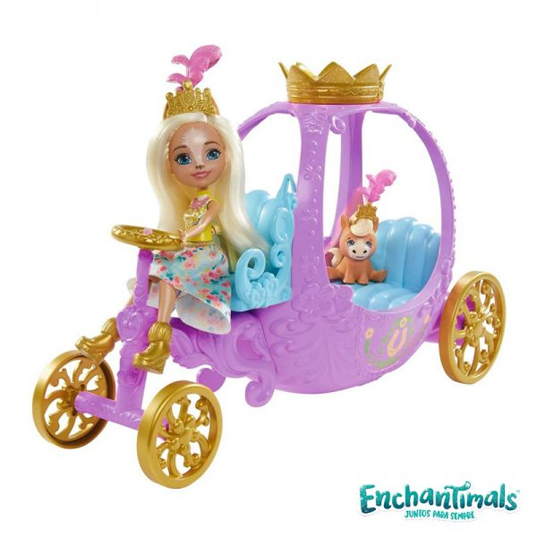 Enchantimals Carruagem Real
