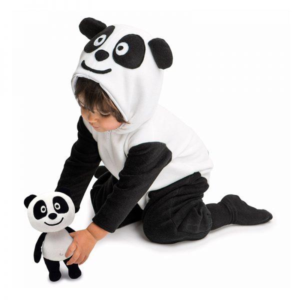 Panda Fato Carnaval (1-3 anos) c/ Peluche
