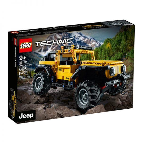 LEGO Technic – Jeep Wrangler Rubicon 42122