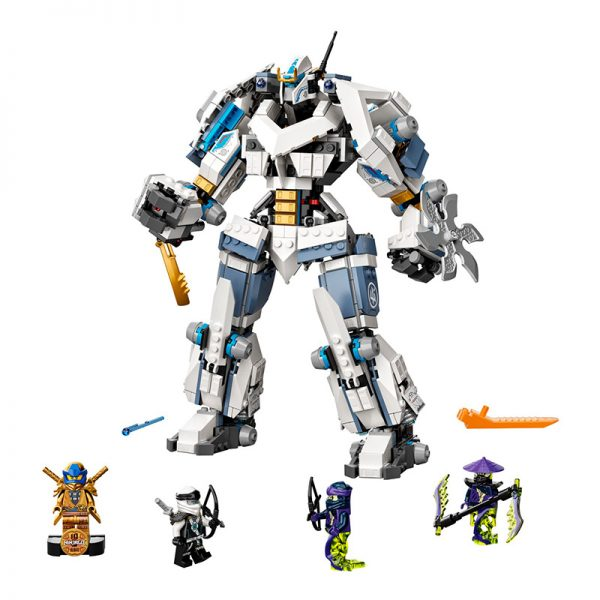LEGO Ninjago – Combate Robot Titã Zane 71738