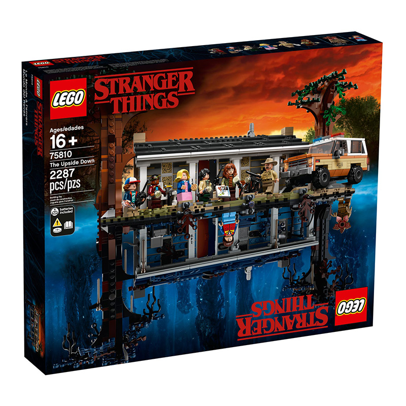 LEGO Stranger Things - Mundo ao Contrário 75810