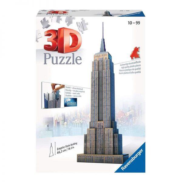 Puzzle 3D Empire State Building – 216 Peças