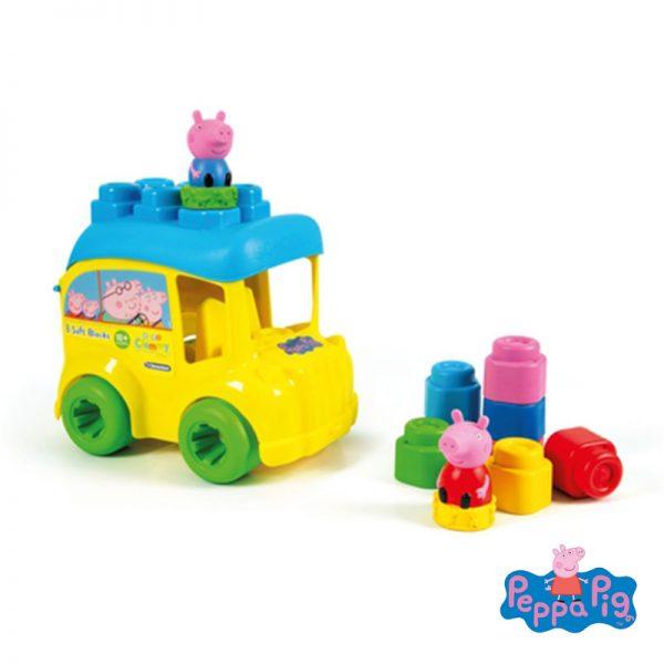 Soft Clemmy – Autocarro Peppa Pig