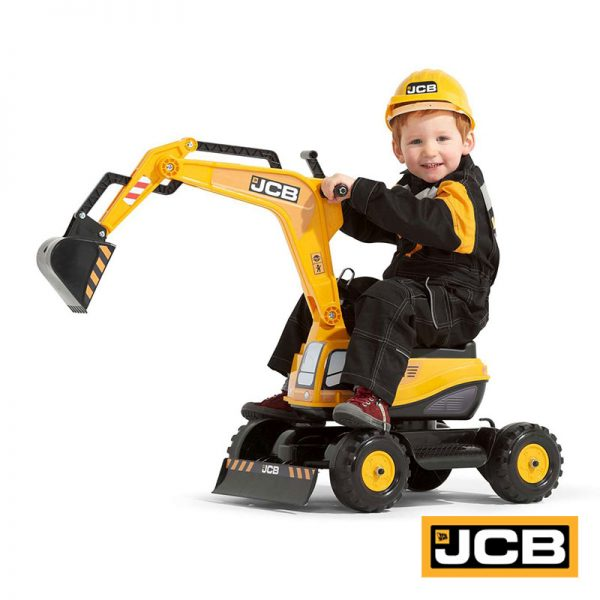 Escavadora JCB + Capacete