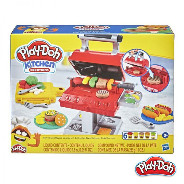 Play-Doh – Super Churrasqueira
