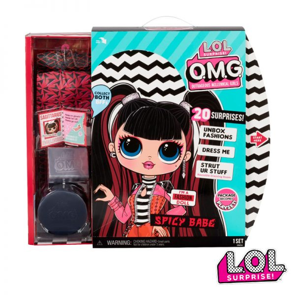LOL Surprise! OMG Série 4 Fashion Doll Spicy Babe