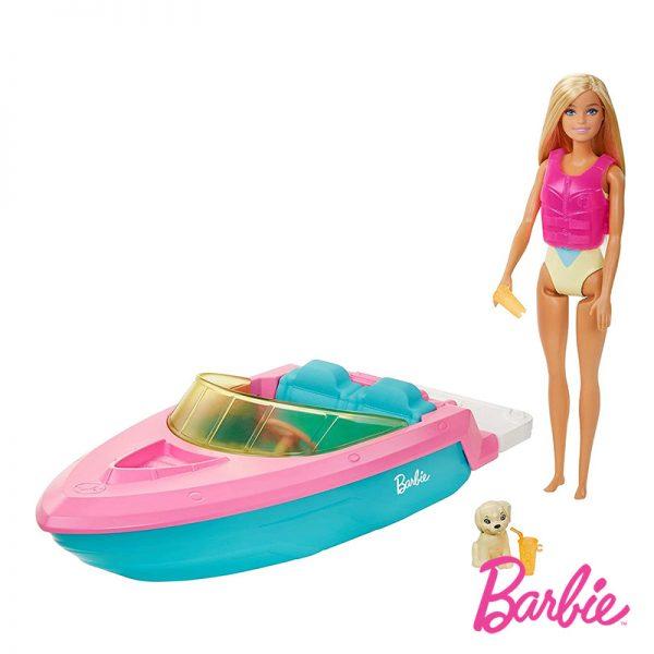 Barbie e o seu Barco