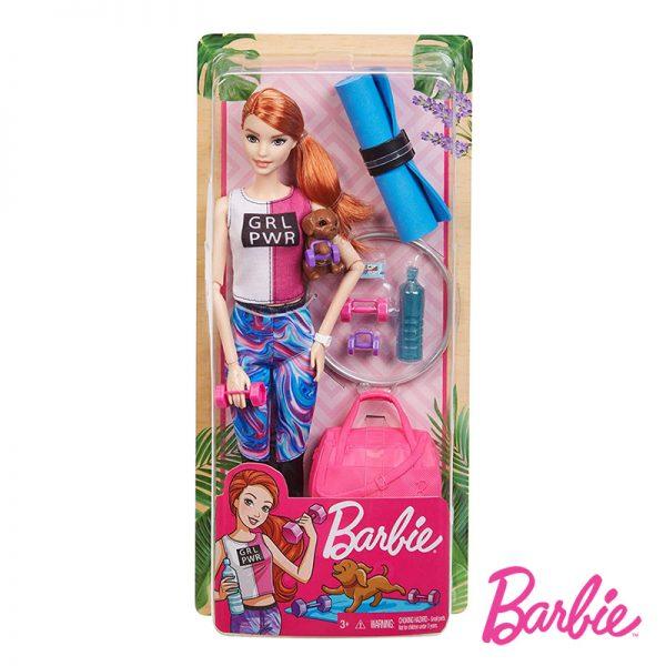 Barbie Vida Relaxante – Fitness c/ Cãozinho
