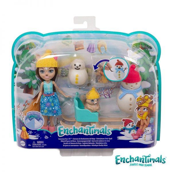 Enchantimals Boneca Sharlotte Squirrel