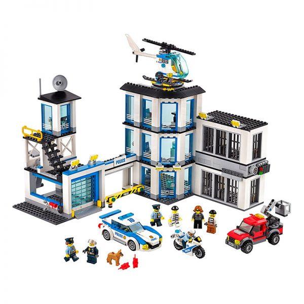 LEGO City – Esquadra da Polícia I 60141