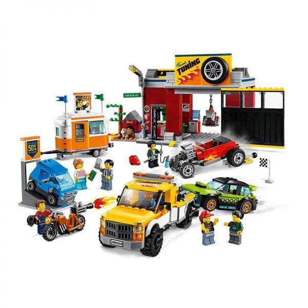 LEGO City – Oficina de Carros 60258