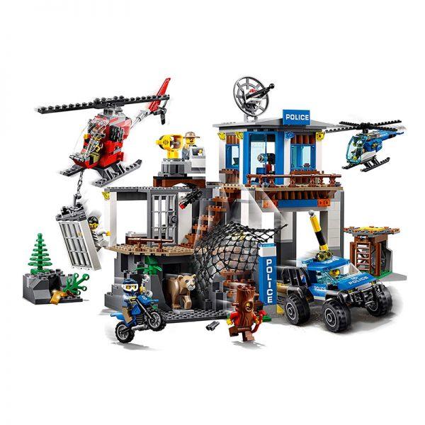 LEGO City – Quartel-General da Montanha 60174