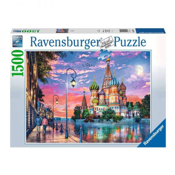 Puzzle A Cidade de Moscovo – 1500 Peças