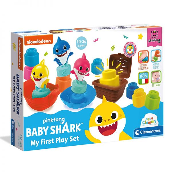 Soft Clemmy Baby Shark Playset