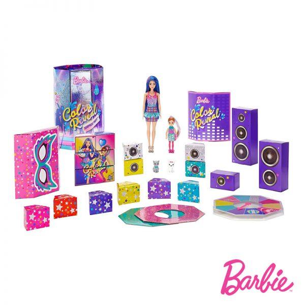 Barbie Color Reveal Playset de Festa
