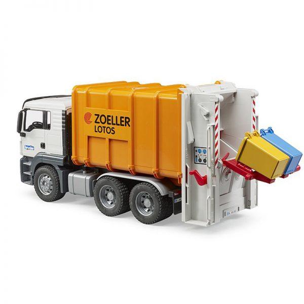 Camião do Lixo Laranja MAN TGA