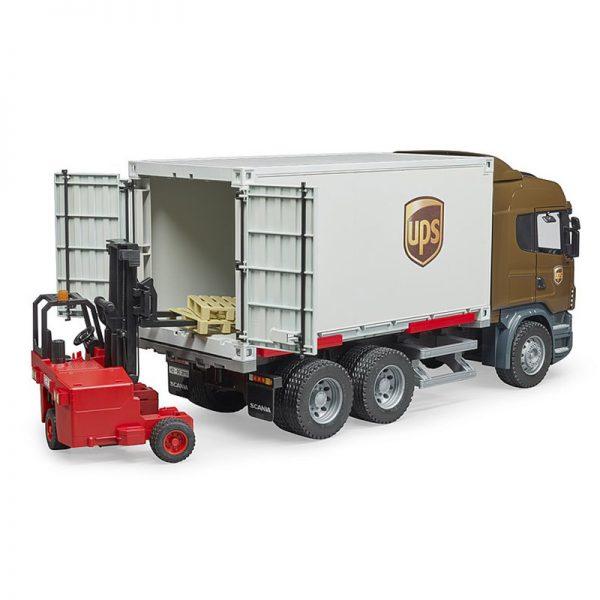 Camião Scania R UPS c/ Empilhador