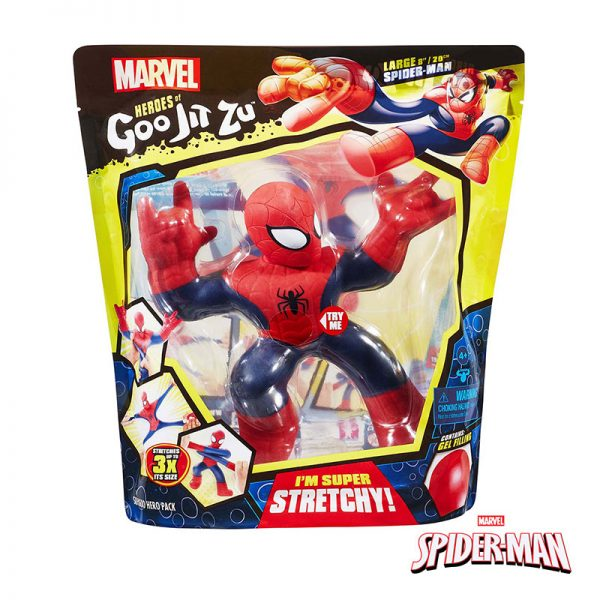 Goo Jit Zu – Figura Grande Spiderman