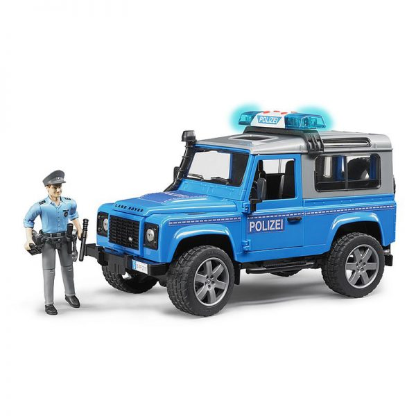 Land Rover Defender Veículo Policial