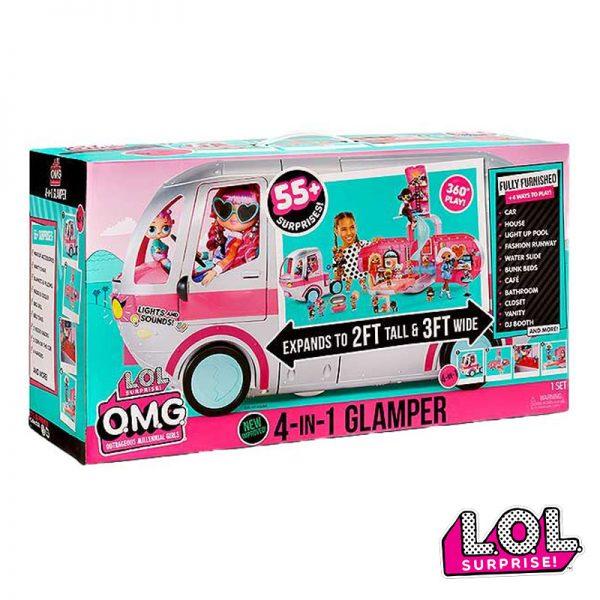 LOL Surprise! OMG 4 em 1 Glamper Caravana
