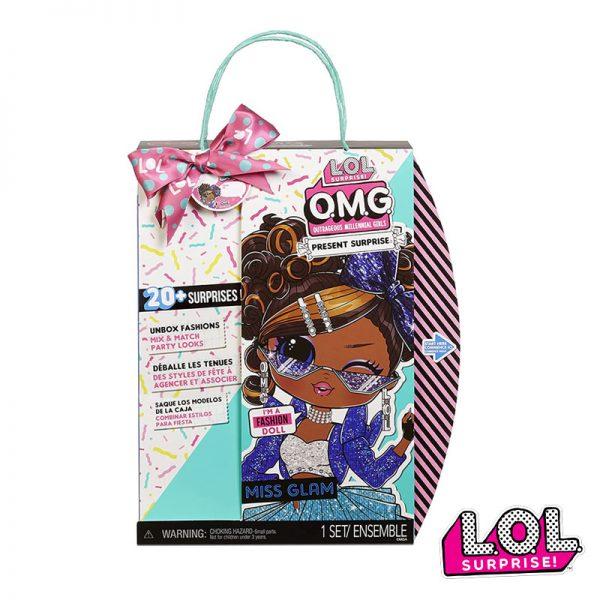 LOL Surprise! OMG Present Surprise Miss Glam