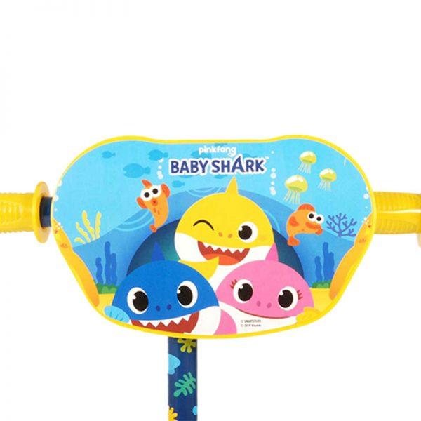Trotinete 3 Rodas Baby Shark