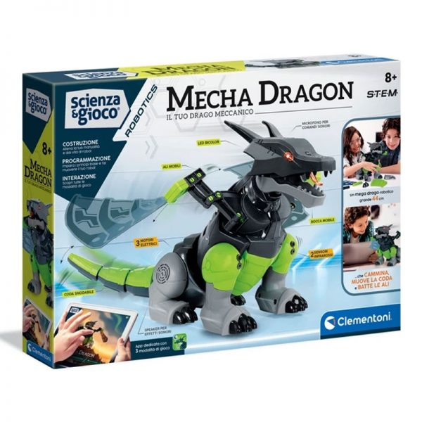 Mecha Dragon – O Robot Mecânico