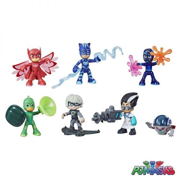 PJ Masks – Pack Heróis e Vilões