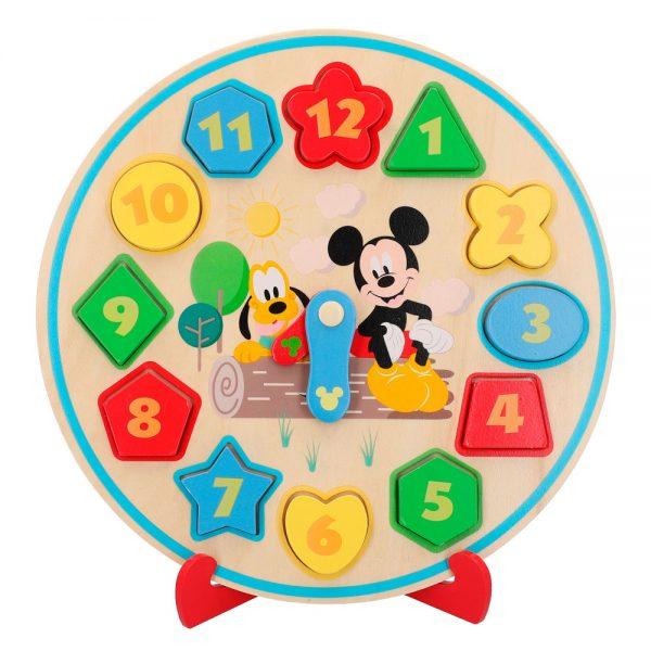 Relógio em Madeira do Mickey
