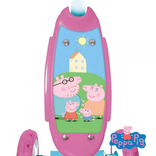Trotinete Mondo 3 Rodas Peppa Pig