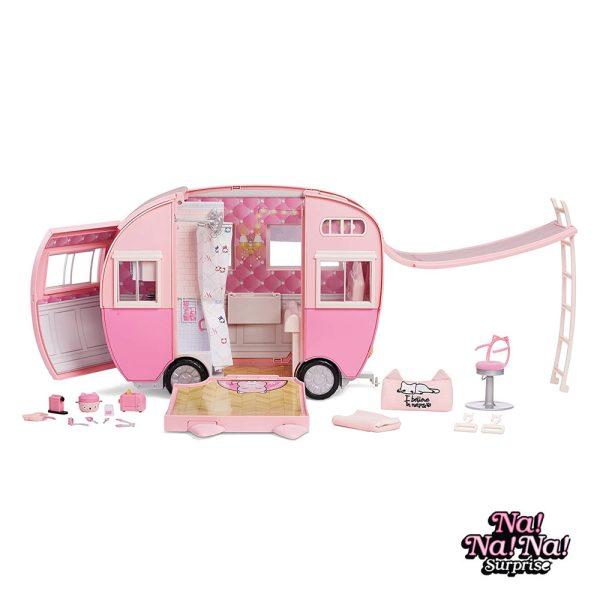 Na Na Na Surprise! Kitty Cat Caravana Rosa